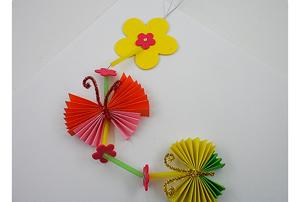 꽃과 나비 모빌(10개이상주문가능)/